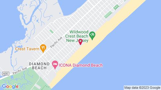 Paradise Oceanfront Resort Map