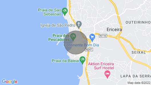 Ericeira Charming House Map