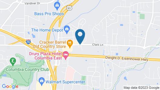 Residence Inn by Marriott Columbia Map