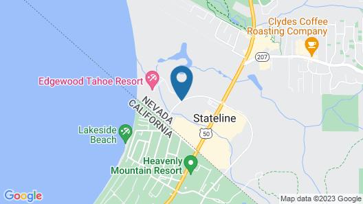 Edgewood Tahoe Resort Map