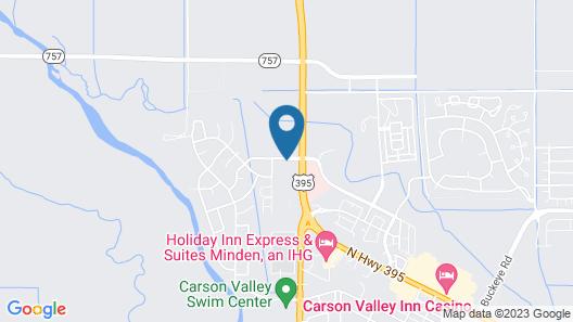 Quality Inn & Suites Minden Map