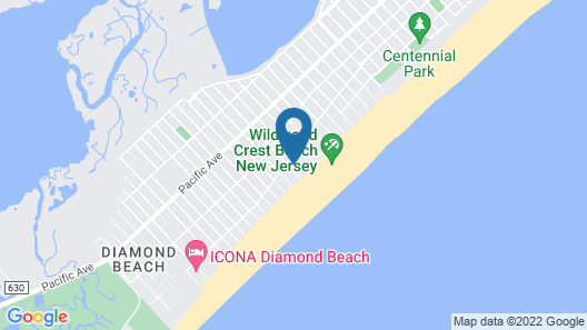 The Blue Marlin Resort Map