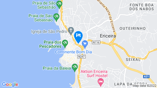 Selina Boavista Ericeira Map