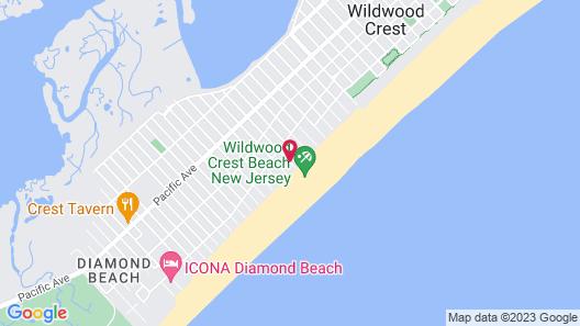 Coliseum Ocean Resort Map