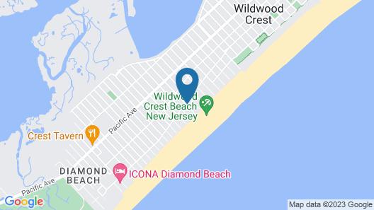 Monterey Motel Map