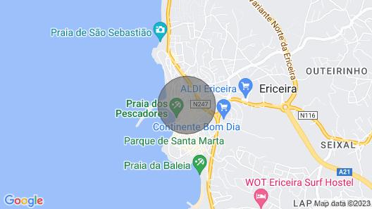 Casa do Largo - the Town Centre Map