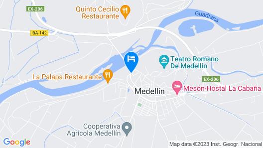 Hostal Restaurante RIO Map