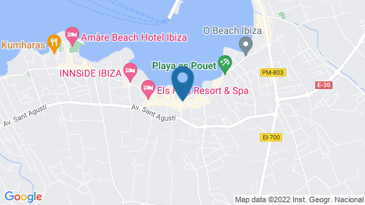 Hotel S'Estanyol Map