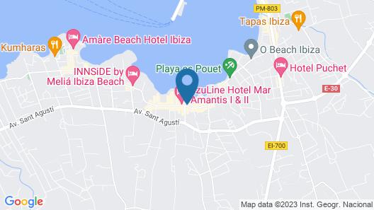 Hotel Playasol San Remo Map
