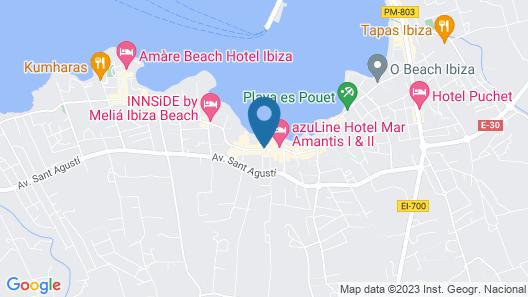 AxelBeach Ibiza Spa & Beach Club - Adults Only Map