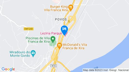Lezíria Parque Hotel Map