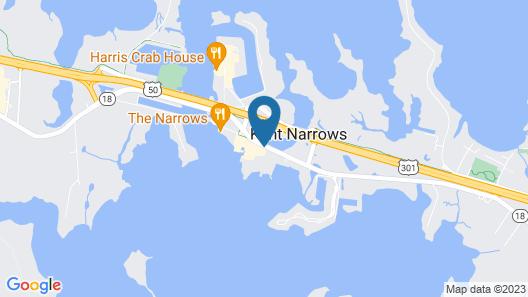 Hilton Garden Inn Kent Island Map