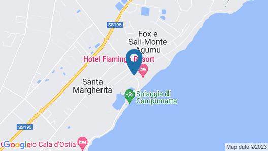 Camping Flumendosa Map
