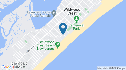 Beach Colony Motel Map