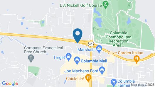 La Quinta Inn & Suites by Wyndham Columbia Map