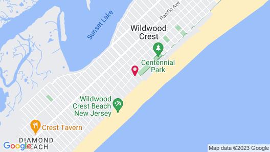 Oceanview Motel Map