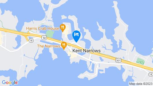 Holiday Inn Express Annapolis - Kent Island Map