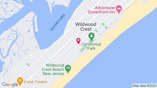 Diamond Crest Motel Map