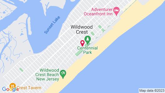 Port Royal Oceanfront Hotel Map