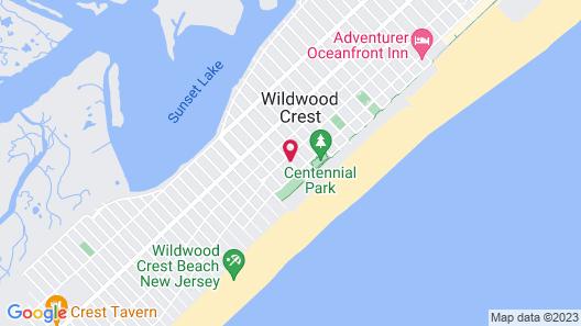 Jolly Roger Motel Map