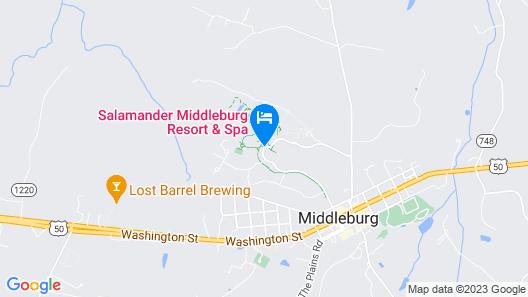 Salamander Resort And Spa Map