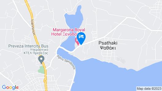 Margarona Royal Hotel Map