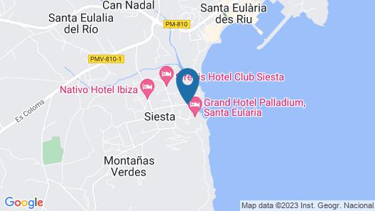 Palladium Hotel Don Carlos Map