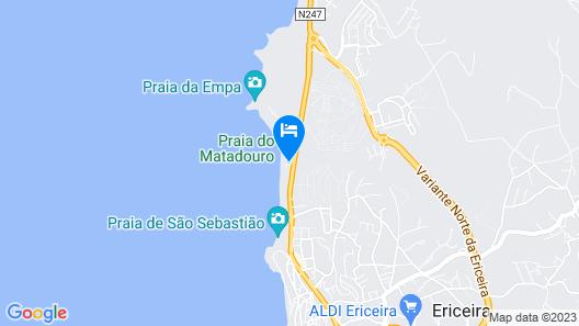 Villa Ana Margarida Beach Map