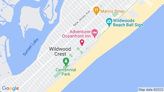 Sea Scape Inn Map