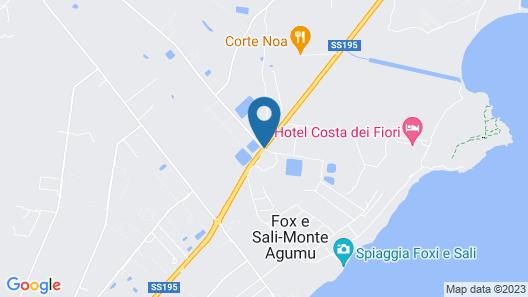 Hotel Rurale Orti di Nora & SPA Map