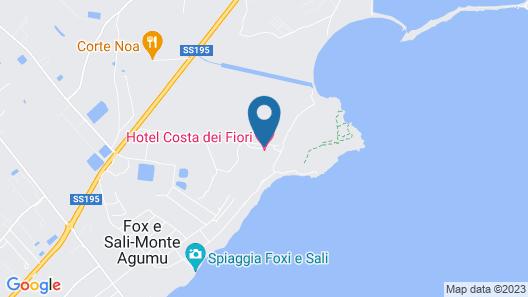 Hotel Costa Dei Fiori Map