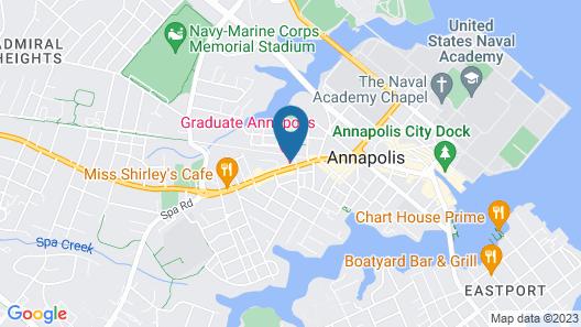 Graduate Annapolis Map