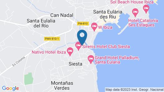 Insotel Fenicia Prestige Suites & Spa Map