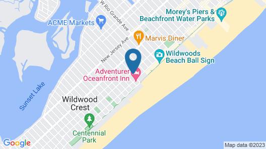 Sea Gull Motel Map