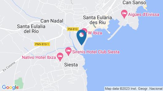 Hotel Riomar, Ibiza, A Tribute Portfolio Hotel Map