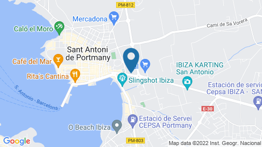 Invisa Hotel Es Pla - Adults Only Map