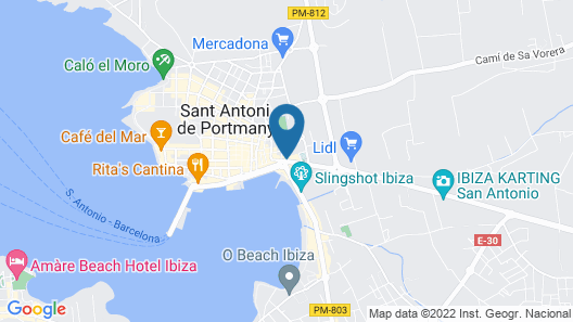 Hotel Piscis - Adults Only Map