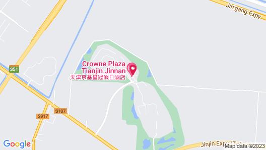 Crowne Plaza Tianjin Jinnan, an IHG Hotel Map