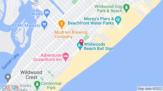 Aquarius Oceanfront Inn Map