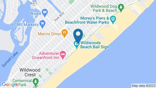 Aquarius Oceanfront Inn Map