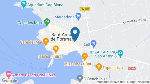 Hostal Tarba Map