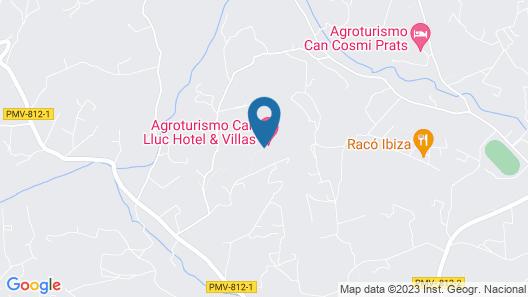 Rusticae Can Lluc Boutique Country Hotel & Villas Map