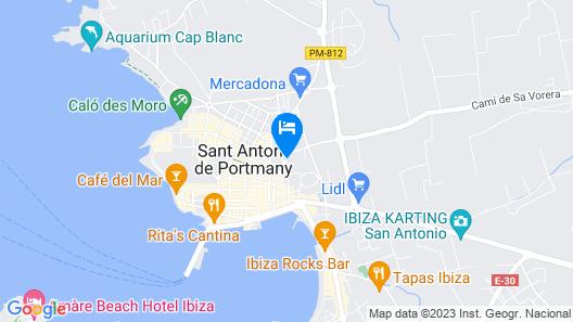 Hotel Orosol Map