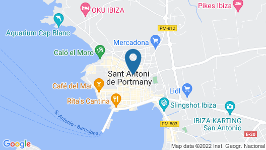 Can Beia Hostal Boutique Map