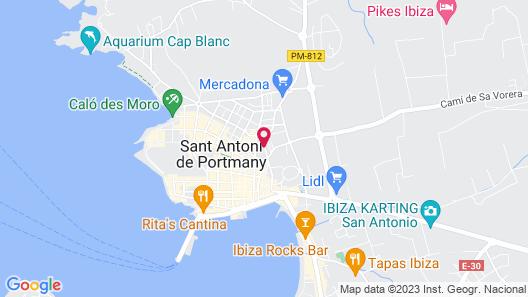 Hotel Marfil Map
