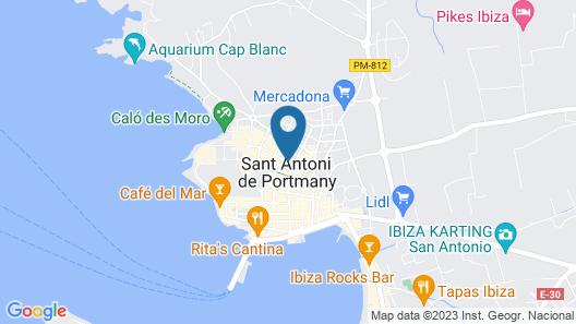 Hotel Florencio Map