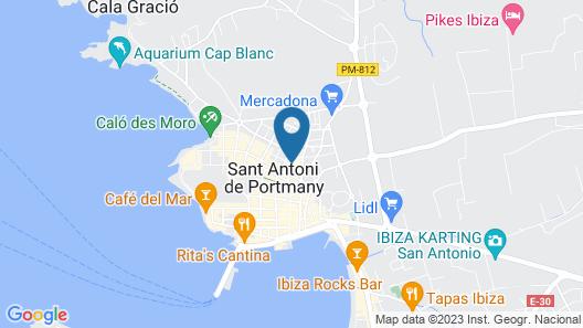 ALL SUITE IBIZA APARTHOTEL Map