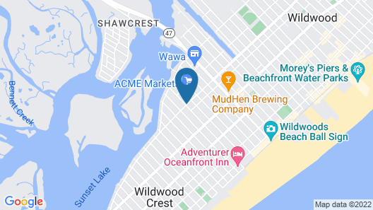 Sand Box Motel Map
