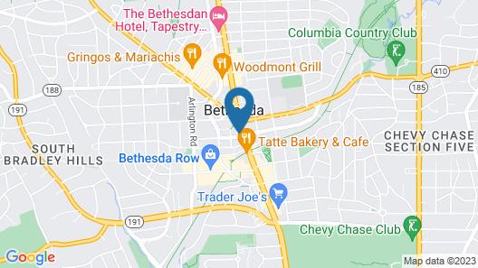 Hyatt Regency Bethesda Map