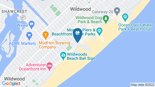 Nantucket Inn & Suites Map
